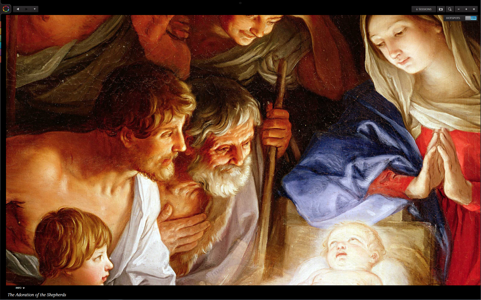 Glo Bible Detail Adoration Of The Shepherds