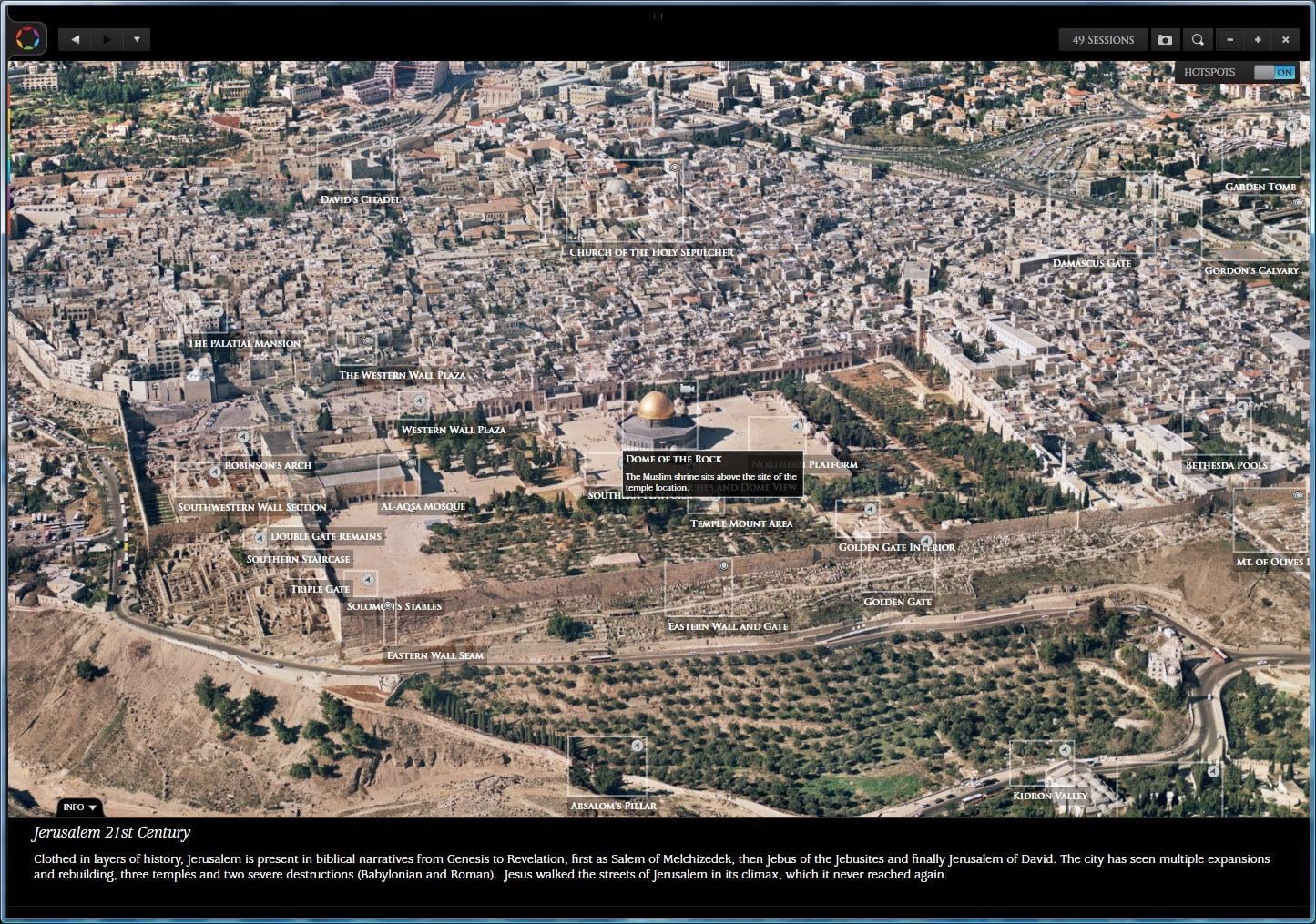 Glo Bible The Temple Mount Today